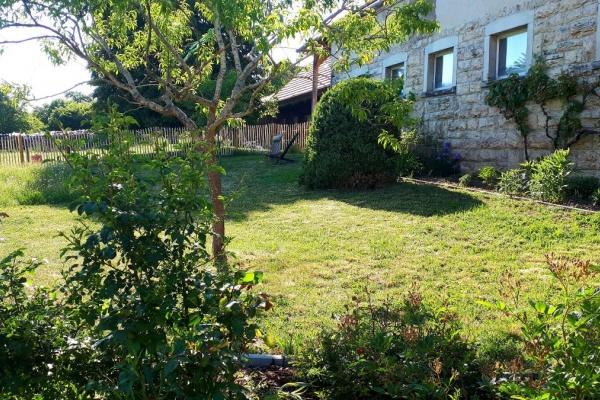 Ca 800m² eingezäunter Garten mit Zugang zum Spazierweg