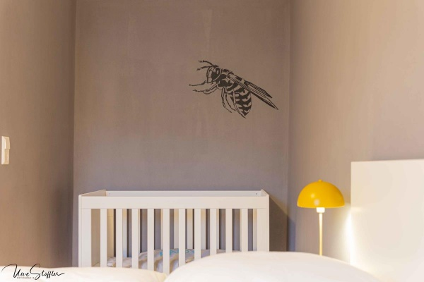 Babybett im Schlafzimmer 2