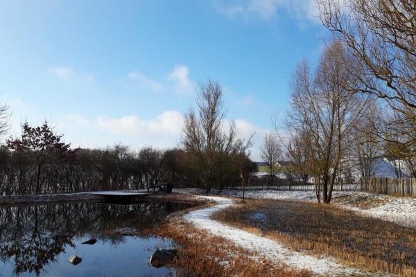 Der perfekte Ort, um an kalten Wintertagen zu entspannen