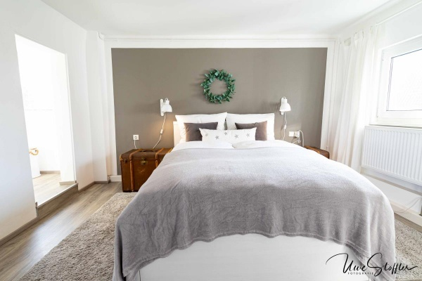 Drei malerische Schlafstätten im Hugely