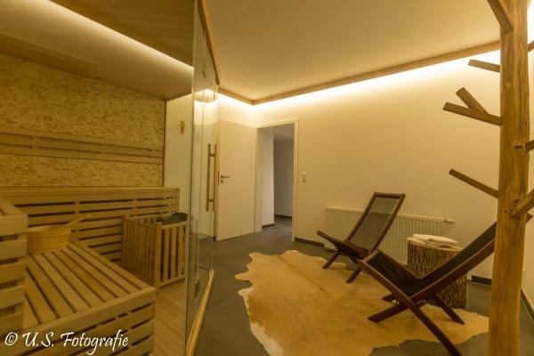 Eine Sauna für Sie zu alleinigen Nutzung