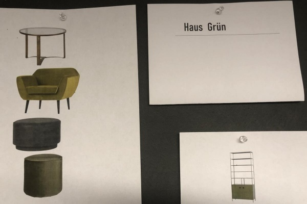 Erstes Moodboard - Möbelstücke