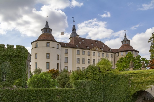 Imposantes Schloss Langenburg (ca. 9km entfernt)