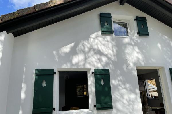 Haus Schrat ist in kürze von außen fertig